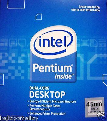 Intel Bx80571e5200 Slay7 Pentium E5200 2.5ghz 800mhz 2m Retail Box