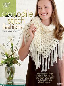 Crocodile-Stitch-Fashions-Crochet-Patterns-Shawls-Hats-Cowls-Gloves-Beret-Caps