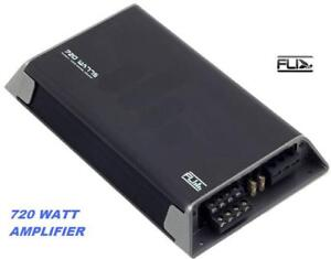 FLI 720 WATT 4/3/2 CHANNEL BRIDGABLE CAR POWER AMP - SAME DAY DISPATCH