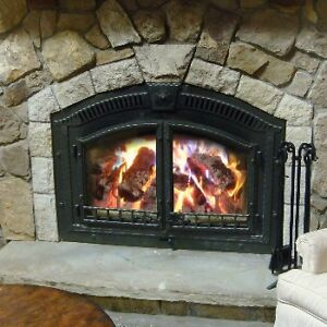 Napoleon Nz6000 Wood Burning Fireplace Big Make Offer Ebay