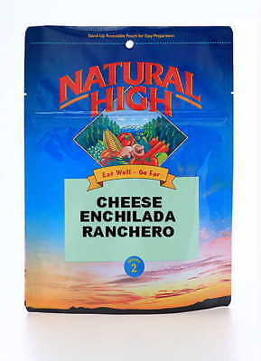 Natural High Cheese Enchilada Ranchero 2-serving Freeze Dried Camping Food