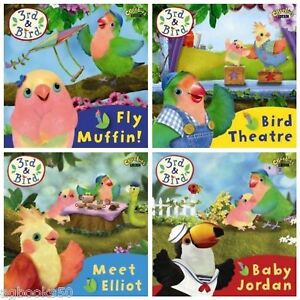 3rd-and-Bird-Books-4-book-pack-collection-young-children-set-bundle-NEW