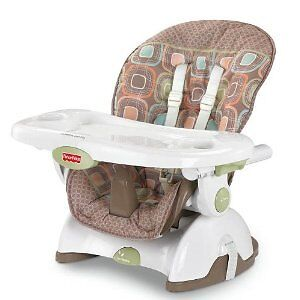 fisher price coco sorbet space saver booster high chair ebay