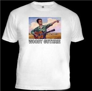 T SHIRT.(Unisex) Country & Western Legend WOODY GUTHRIE