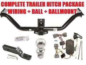 2006-2014 HONDA RIDGELINE TRAILER HITCH TOW KIT W/ WIRING HARNESS + BALL u0026  sc 1 st  eBay : honda pilot trailer wiring harness - yogabreezes.com