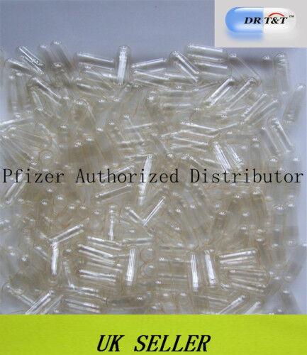 DR T&T 10000 vegetarian vege HPMC clear capsules size 0EL size0EL EU product
