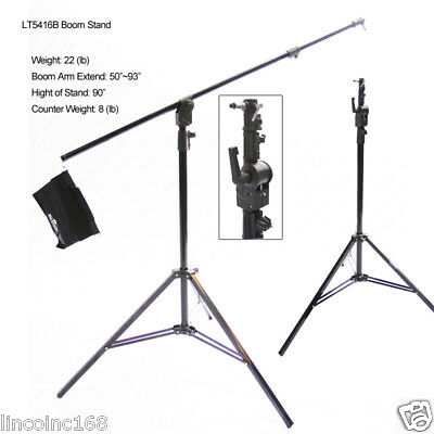Photo Studio Lighting Portable Boom Arm Light Stand Counter Weight A5416b 00261