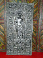 Buddha Carved Door Panel