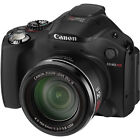 Canon PowerShot SX40 HS 12.1 MP Digital Camera - Black
