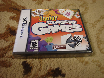 Junior Classic Games (nintendo Ds, 2009)