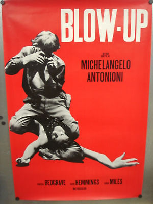 """BLOW-UP MOVIE (ITALIAN) POSTER 27"""" x 39.5""""  #31"""