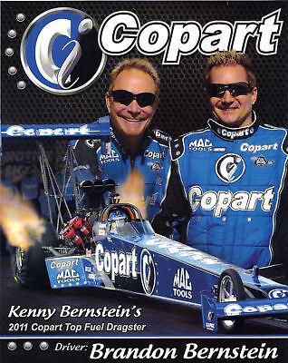 2011 Kenny   Brandon Bernstein Copart Handout Postcard
