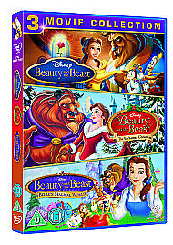 Beauty-And-The-Beast-Collection-3-Movie-Box-Set-Disney-DVD-UK-FAST-DELIVERY