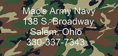 Mac's Army Navy