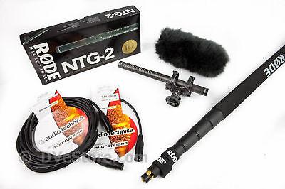 Rode NTG-2 Shotgun Microphone Location Sound Package!