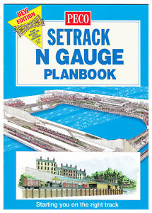 Peco n gauge setrack planbook new edition model railway for Free planbook