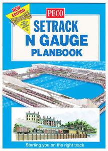 Peco N Gauge Setrack Planbook New Edition Model Railway