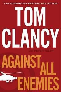 """AS NEW"" Against All Enemies, Clancy, Tom, Book"
