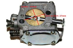 Gasoline Carburetor Carb Parts For Husqvarna 61 266 268 272 Chainsaw Motor