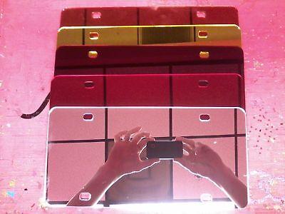 Custom Vinyl License Plates Any Image,font,color