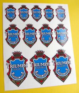 TRIUMPH-style-Vintage-Cycle-Bike-Frame-Decals-Stickers
