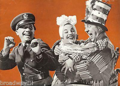 "Carmen Miranda ""SONS 'O FUN"" Ella Logan / Joe Besser / Sammy Fain 1941 Program"