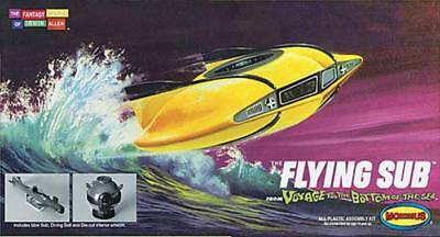 Moebius Mini Scale Flying Sub Voyage To The Bottom Sea Model Kit Moe101