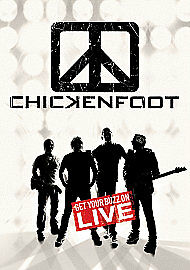 CHICKENFOOT GET YOUR BUZZ ON LIVE - FREE UK P&P