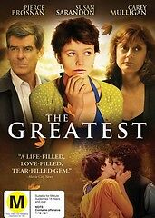 THE GREATEST, SUSAN SARANDON, PIERCE BROSNAN, REGION 4 NEW AND SEALED FREE POST