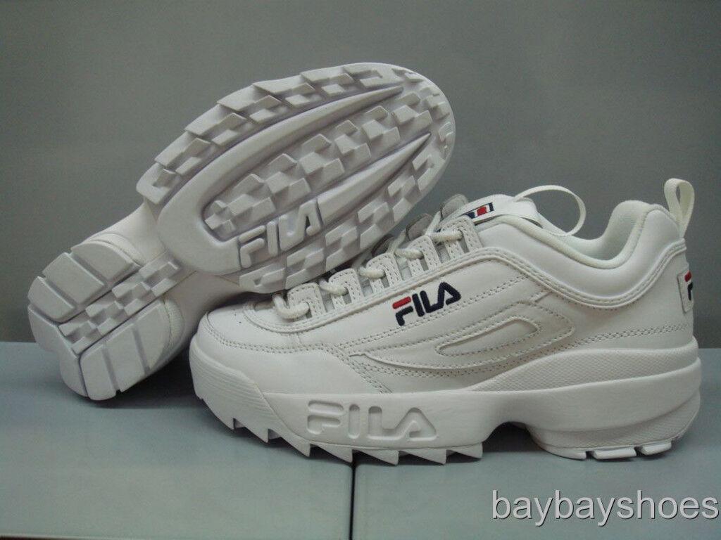 7cd631503b45 Спортивная обувь для мужчины FILA DISRUPTOR II 2 WHITE PEACOAT BLUE RED  CROSS-TRAINING TRAINER US MENS SIZES - 221620491996 - купить на eBay.com  (США) с ...
