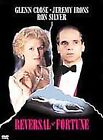 Reversal of Fortune (DVD, 2001)