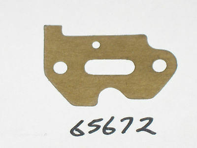 genuine McCulloch 65672 carburetor mount gasket Mac 2-10 oem nos