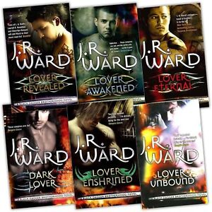 Black Dagger Brotherhood J.R Ward 6 books Set JR WARD