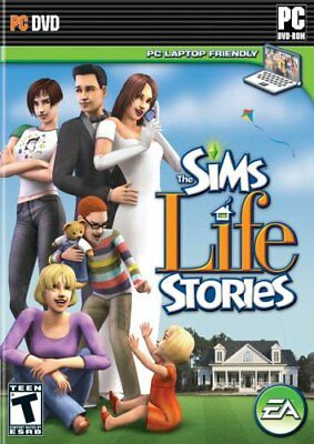 Computer Games - The Sims Life Stories PC Games Windows 10 8 7 XP Computer sims simulation