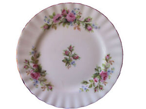 Royal Albert MOSS ROSE Bread & Butter Plate 6