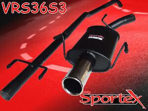 Sportex Vauxhall Corsa C race tube performance exhaust system 1.0i 10/2000-2006