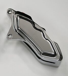 HHI HAWG HALTERS 6 PISTON CHROME LEFT SIDE CALIPER 4 HARLEY DAVIDSON 11.5