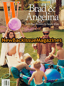 W 7/05,Angelina Jolie,Brad Pitt,July 2005,NEW