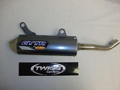 Gytr 2 Stroke Silencer Muffler Exhaust Pipe Yz250 02- 05 06 07 08 09 10 11 12-16