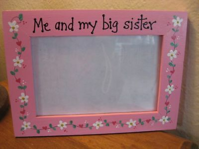 Me And My Big Sister - Baby Girls Photo Picture Frame