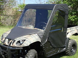 FULL-CAB-Enclosure-w-Vinyl-Windshield-YAMAHA-RHINO-700-660-450-New-UTV