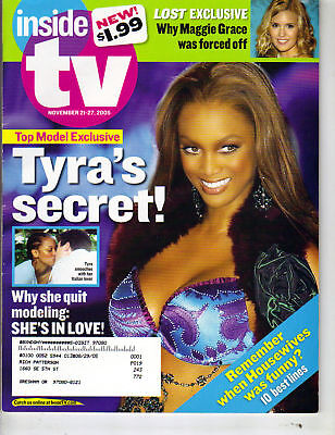Tyra Banks Inside Tv Magazine 11 05  Next Top Model