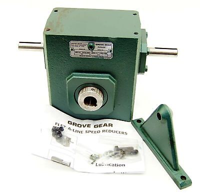 New Grove Gear H226-1a 101 Coupled Speed Reducer 1 D