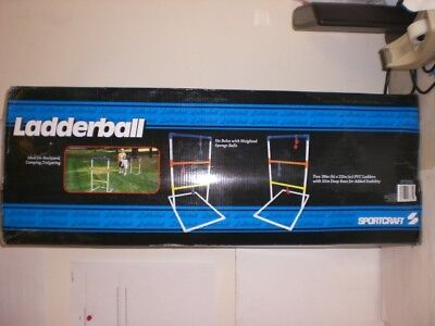 Sportcraft Ladderball Include 2 39x22 Pvc Ladders