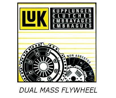 FOR BMW 3 5 SERIES E46 E39 330D 525D 530D LUK OEM DUAL MASS FLYWHEEL 1999-2003