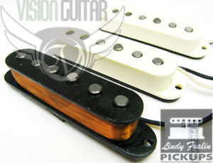 Lindy-Fralin-REAL-54s-Stratocaster-Strat-Pickup-Set-Alnico-3-With-BasePlate