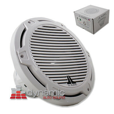 Jl Audio Mx10ib3-cg-wh Marine Boat Subwoofer Free-air 175w White Classic Grille