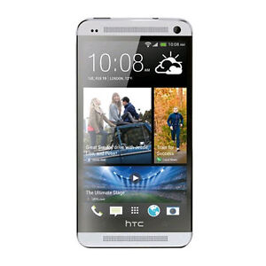 HTC One M7 - 32GB - Silver (Unlocked) Sm...