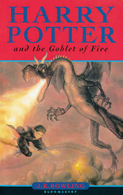 Harry Potter and the Goblet of Fire (Book 4) - J. K. Rowling - Very Good - 07475
