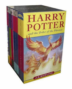 Harry-Potter-Pbk-Boxed-Set-J-K-Rowling-Very-Good-Book